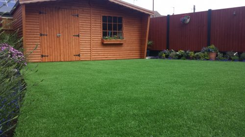 Finished Artificial Lawn